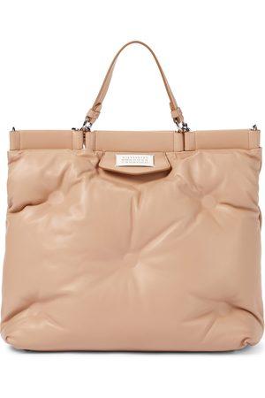 Maison Margiela Women Purses - Glam Slam Medium leather tote