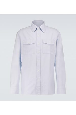 Tom Ford Washed Oxford Leisure cotton shirt