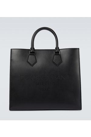 Dolce & Gabbana Men Luggage - Leather tote bag
