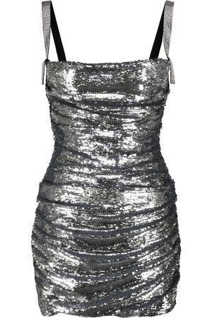 Dolce & Gabbana Women Mini Dresses - Sequined bustier minidress