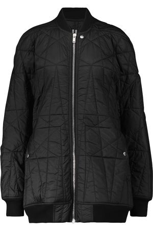 Rick Owens Women Bomber Jackets - DRKSHDW longline bomber jacket