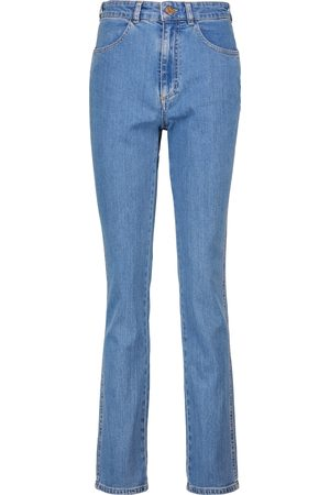 Chloé Women High Waisted - High-rise straight jeans