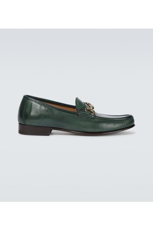 YUKETEN Moc Ischia leather loafers
