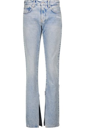 OFF-WHITE Women High Waisted - High-rise slim jeans
