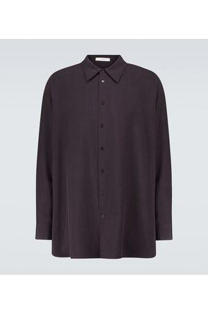 The Row Men Long sleeves - Lukre long-sleeved silk shirt