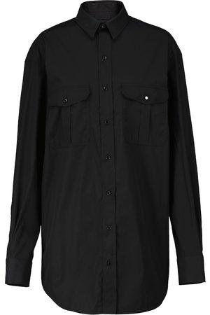 WARDROBE.NYC Cotton poplin shirt dress