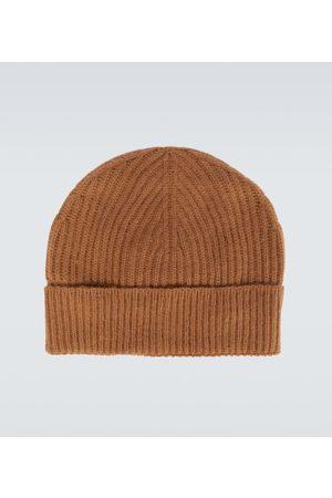 Maison Margiela Men Beanies - Ribbed knitted beanie