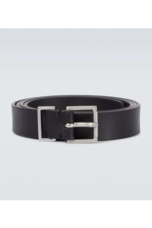 Maison Margiela Leather 4-stitches belt