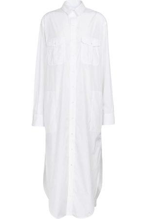 WARDROBE.NYC Women Casual Dresses - Cotton poplin shirt dress