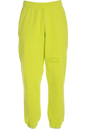 MARTINE ROSE Slim Fit Logo Track Pants