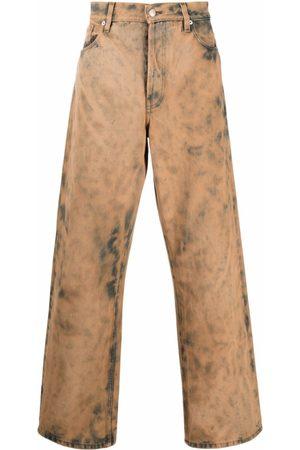 DRIES VAN NOTEN Bleach-Wash Wide-Leg Jeans