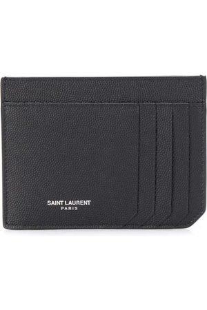 Saint Laurent Id Embossed Logo Cardholder