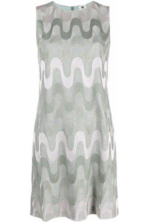 M Missoni Striped Sleeveless Mini Dress