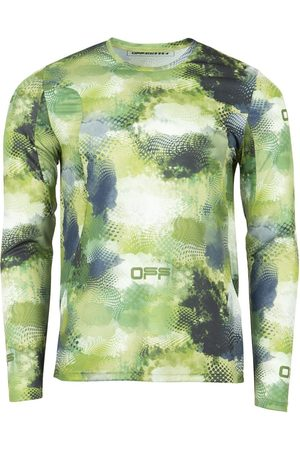 OFF-WHITE Active Long-Sleeve Top Green