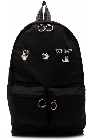 OFF-WHITE Hands Off Logo-Print Backpack