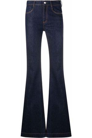 Stella McCartney High-Waisted Flared Jeans