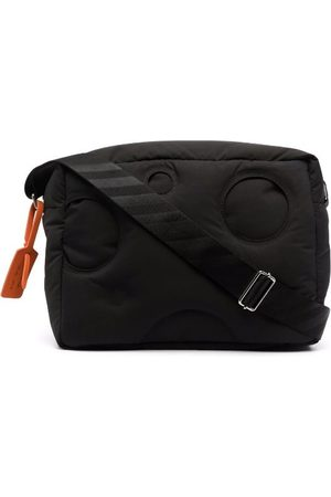 OFF-WHITE Meteor Quilted Messenger Bag