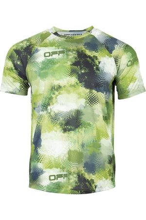 OFF-WHITE Active Short Sleeve Mesh Tee