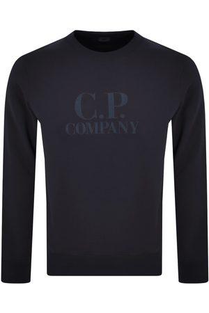 CP Company CP Company Crew Neck Sweatshirt Navy