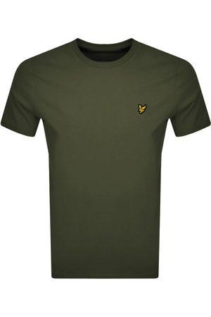 Lyle & Scott Crew Neck T Shirt Khaki