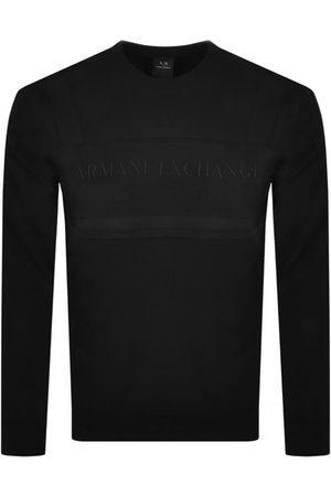 Armani Crew Neck Logo Sweatshirt