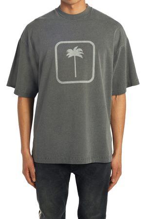 Palm Angels Men's Tonal Palm Tree Cotton Graphic Tee