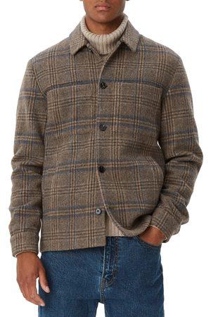 Les Deux Men's Marseille Check Wool Blend Jacket
