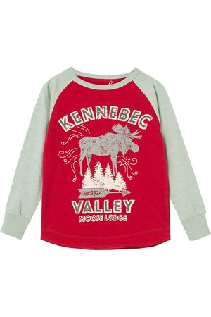 Peek Aren't You Curious Toddler Boy's Kids' Kennebec Valley Long Sleeve Graphic Tee
