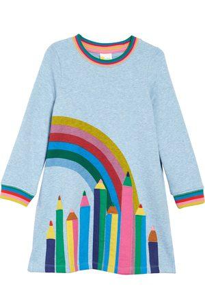 Boden Toddler Girl's Kids' Applique Sweatshirt Dress