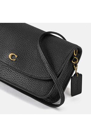 Coach Women Clutches - Women's Polished Pebble Leather Hayden Cross Body Bag