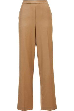 THEORY Women Wide Leg Pants - Wide Wool Pants