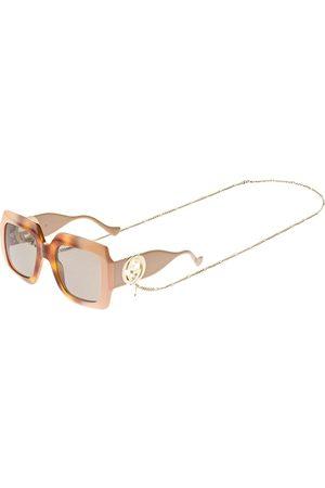 Gucci Chain Squared Sunglasses