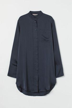 H&M Oversized Satin Shirt