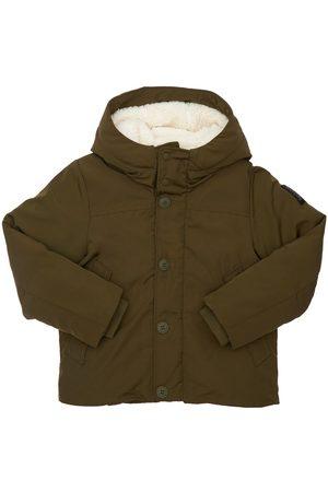 Bomboogie Hooded Nylon Puffer Jacket