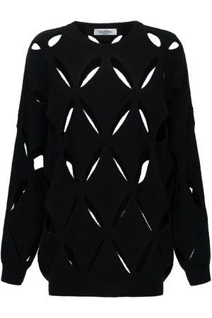 VALENTINO Women Sweatshirts - Wool Knit Sweater