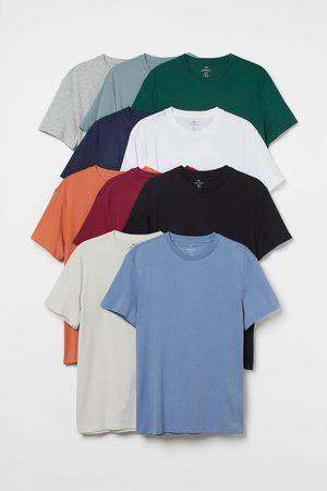 H&M Men T-shirts - 10-pack Regular Fit T-shirts