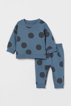 H&M Kids Sweatpants - 2-piece Cotton Set