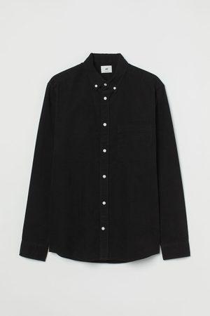 H&M Men Shirts - Regular Fit Corduroy Shirt