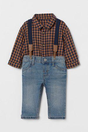 H&M Kids Jeans - 2-piece Cotton Set
