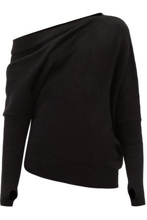 Tom Ford Off-the-shoulder Cashmere Sweater - Womens