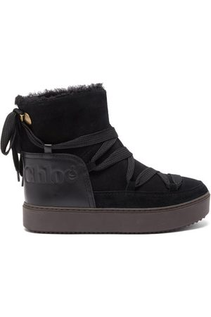 See by Chloé Charlee Shearling-lined Snow Boots - Womens