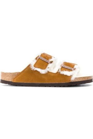 Birkenstock Shearling sandals