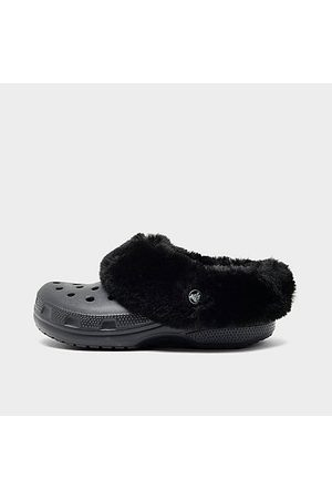 Crocs Clogs - Mammoth Charm Clog Shoes in / Size 4.0 Fur