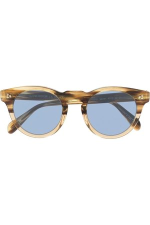 Oliver Peoples Lewen round-frame sunglasses - Neutrals
