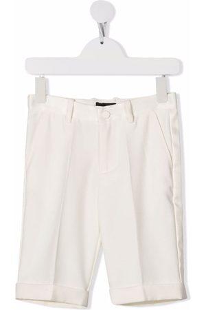 MONNALISA Boys Shorts - Straight-leg chino shorts - Neutrals