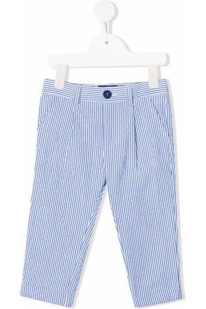 MONNALISA Striped straight-leg trousers
