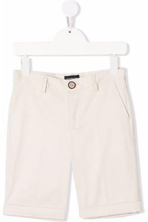 MONNALISA Explorer straight-leg shorts - Neutrals