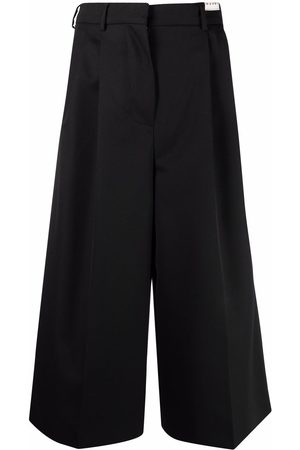 Marni High-waisted cropped trousers