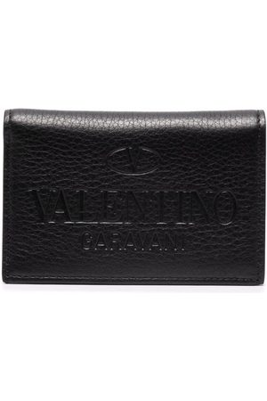 VALENTINO GARAVANI Men Wallets - Debossed-logo cardholder