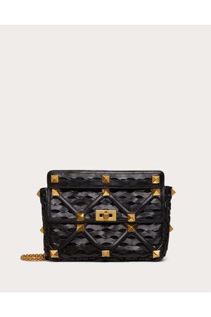 VALENTINO GARAVANI Women Shoulder Bags - Large Roman Stud The Shoulder Bag With Chain And Wave Design Women 100% Lambskin OneSize